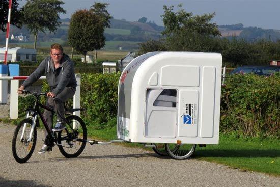 Складной дом прицеп Wide Path Camper для путешествий на
