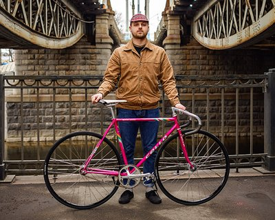 Fixed gear велосипед Алексея Папулова