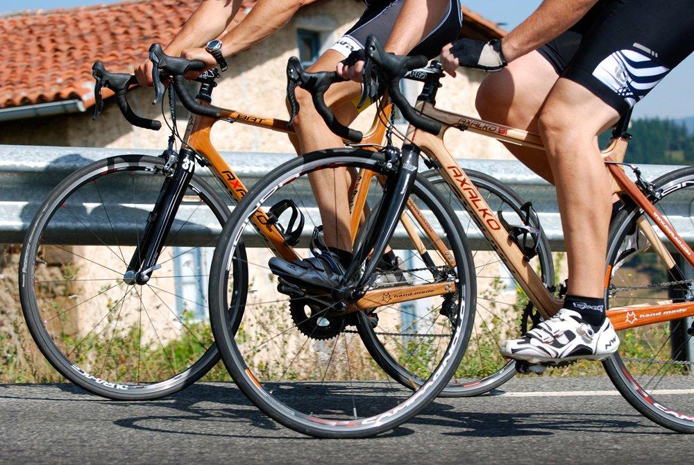 Деревянный велосипед