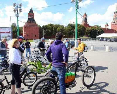 GreenBikesTeam о планах по электро-велосипедизации Москвы и Крыма