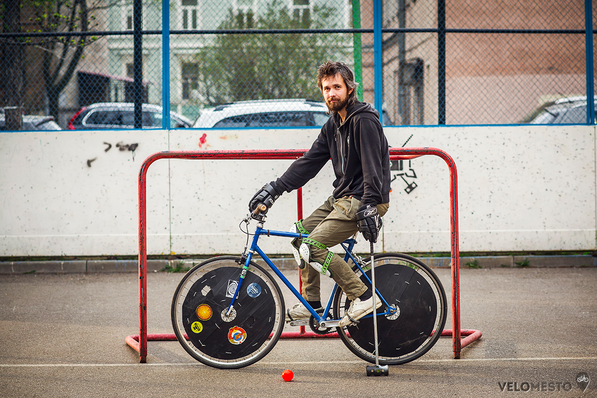 велосипед для байк-поло вело-поло bikepolo bike polo игра байкполо