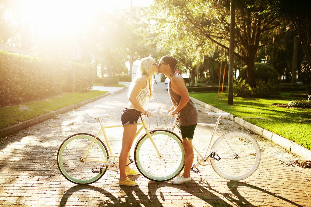 секс с девушкой после езды на велосипедах
